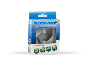 Fastfender 25 White - packing unit for boat fender hangers